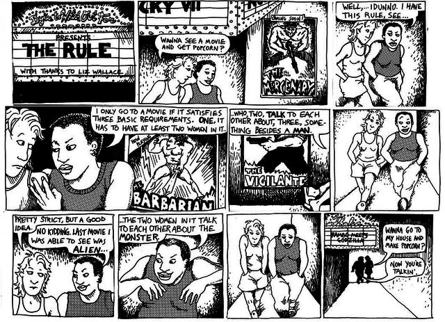 Comic de Bechdel