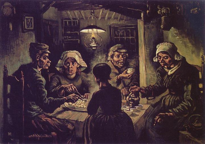 los comedores de patatas_VAN GOGH
